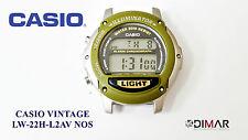 VINTAGE CASIO ORIGINAL LW-22H-L2AV MODULO 1602 SIN CORREA HERMETISMO REALIZADO