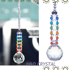 Crystal Ball Suncatcher Feng Shui Prisms Pendant Pendulum Hanging Window Decor