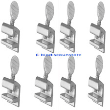 8 PCS Sliding Window Locks Safety Easy Installation High Security Home Lock