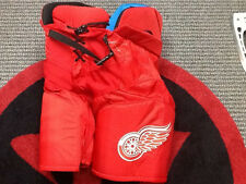 NHL Game used Pro Stock Bauer hockey Pants Detroit Red Wings Stadium Series