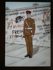 POSTCARD CORPS OF MILITARY POLICE - CORPORAL BERLIN 1989