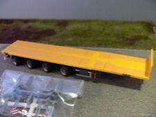 1/87 Herpa Nooteboom Teletrailer Auflieger 4 achs gelb
