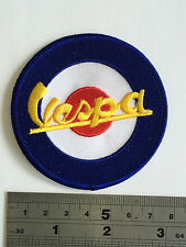 Vespa Target Patch - Embroidered - Iron or Sew On