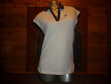(NWT) AUDI COLLECTION V-NECK POLO SHIRT. WOMEN'S SIZE: ( XS ) VERY COOL LOOKING