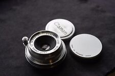 Canon Serenar 35mm f/3.5 LEICA LTM M39 SCREW MOUNT LENS..very nice