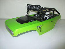 Axial Painted Green & Black SCX10 Deadbolt Rock Crawler Body Shell OZ RC Models