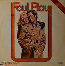 """FOUL PLAY - GOLDIE HAWN - CHEVY CHASE - LASERDISC  12""""   LD (O119)"""