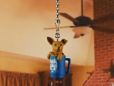 Hood Hounds Tips Chihuahua Dog Ceiling Fan Pull Light Lamp Chain Decor K1285 S