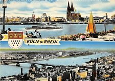 BG174 koln am rhein ship bateaux cologne on the rhine  CPSM 14x9.5cm germany