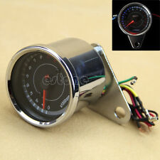 DC 12V Universal Motorcycle LED Backlight Tachometer Speedometer Tacho Gauge