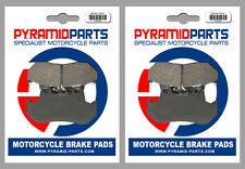 Honda CB 400 Hawk 1981 Front & Rear Brake Pads Full Set (2 Pairs)