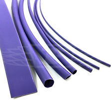 7 x 200mm LENGTHS PURPLE HEAT SHRINK TUBING HEATSHRINK TUBE SLEEVING PACK KIT