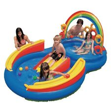 INTEX Inflatable Kids Rainbow Ring Water Play Center 57453EP