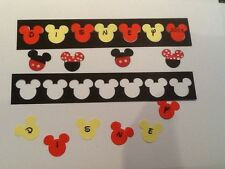 Disney . Mickey . Minnie Scrapbook Page Headers