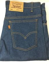 Levis Men 517 Vintage Deadstock 36x31 Orange Tab USA SF Ca Denim Levi Jeans