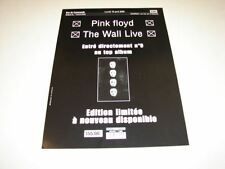 PINK FLOYD THE WALL LIVE!!!!!!!!!!RARE FRENCH PRESS/KIT