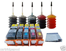 Refillable cartridges for Canon PGI-225 CLI-226 PIXMA MG5120 MG5220 MG5320 30ml