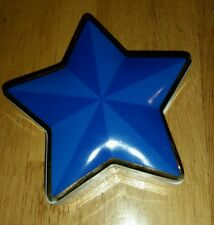 Vintage Blue star gold trim  Trinket Box by Tiffany & Co MINT Japan 5""