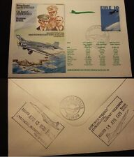 STAMP FRANCOBLLO EIRE FIRST FLIGHT COVER CONCORDE HELDON MUSEUM ROYAL AIR FORCE