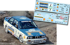 Decal 1:43 Josep Bassas - BMW M3 - Rally El Corte Ingles 1988