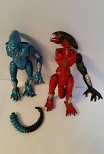 "ALIEN: 5"" Action Figures x2,  Kenner, Fox, 1993,  Collectible, Damaged"