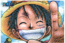 """Jigsaw Puzzles 1000 Pieces """"Onepiece Luffy : [Photo Mosaic]"""""""