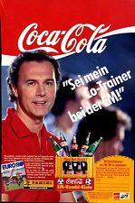 Coca Cola--Franz Beckenbauer--EURO 88--Sei mein Co Trainer----Werbung von 1988-