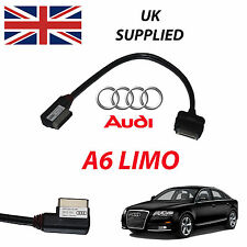 Nuevo Audi A6 Limo C7 2011 AMI MMI 4f0051510r Iphone Ipod Usb Audio Video Cable