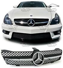 FRONT CHROME GRILL FOR MERCEDES CLS C219 04-10 AMG LOOK SPOILER BODY KIT NEW