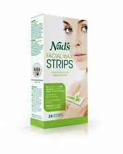 Nad's Facial Wax Strips 24 ea