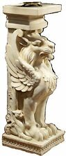 Concrete / Cement Statue Mold Winged Lions Pedestal Latex rubber / Fiberglass