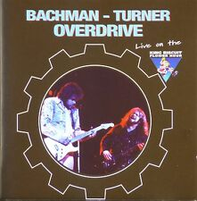 CD - Bachman-Turner Overdrive - Live On The King Biscuit Flower Hour - A168