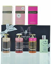 Prada Miniatures perfume collection for Women 4 pieces In Box