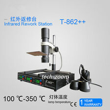 Updated T862++ IRDA Welder Infrared SMT SMD BGA Rework Station