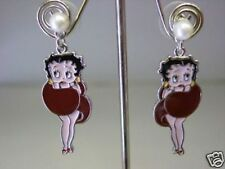 ORECCHINI  BETTY BOOP-METALLO ANALLERGICO SMALTATO