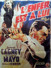 L'ENFER EST A LUI - Cagney,Mayo,Walsh - AFFICHE 120x160/47x63 FRENCH POSTER RR