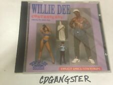 "CD WILLIE DEE d CONTROVERSY ""GHETTO""BOYS 1989 1ST PRESS NM!! RARE RAP-A-LOT geto"