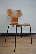 Arne Jacobsen für Fritz Hansen, Hammer chair, T chair, Modell 3103, 1967, Teak