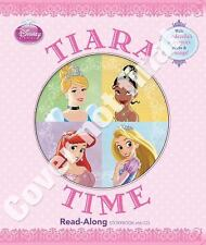 Disney Princess Tiara Time Read-Along Storybook and CD