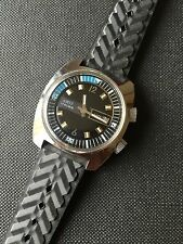Amsa Double Crown Boysize/Unisex Vintage Diver Style Watch