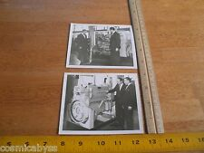 Caterpillar Diesel Engines 1960's lot of 2 photos 4x5""