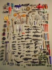 Lot of 215 Action Figure Weapons Guns Swords & Accessories GI JOE MOTU STAR WARS