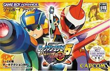 Used Game boy Advance ROCKMAN EXE 5 Megaman Battle Network 5 Team of Blues Japan