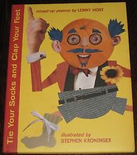 TIE YOUR SOCKS & CLAP YOUR FEET 1st Ed Book Signed by Stephen Kroninger & Hort