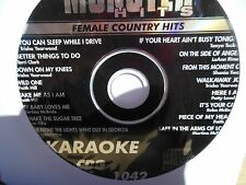 Monster Hits Karaoke CD+G vol-1042/ Trisha Yearwood,Faith Hill,Martina Mcbride+