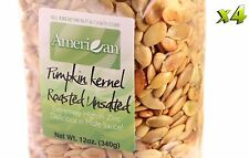 48oz Gourmet Style Bags of Delicious Roasted UnSalted Pumpkin Seeds [3 lbs.]