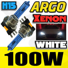VW AUDI H15 100W 55W 8500K HID KIT XENON LIGHT HEADLIGHT CONVERSION BULBS LAMPS