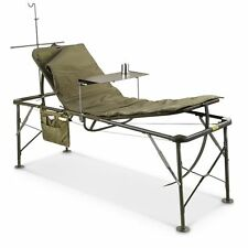 US Military Surplus Foldable Field Hospital Bed/Cot Outdoor Great For Camping