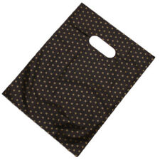 500x Wholesale Star Pattern Printed Black Background Plastic Carrier Bags LC