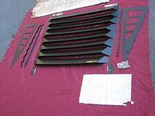 79 80 81 82 CORVETTE NOS VINTAGE CRAGAR REAR WINDOW LOUVERS